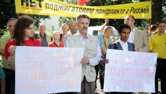Пикет Плинера: 50 человек обвинили МИД в русофобии