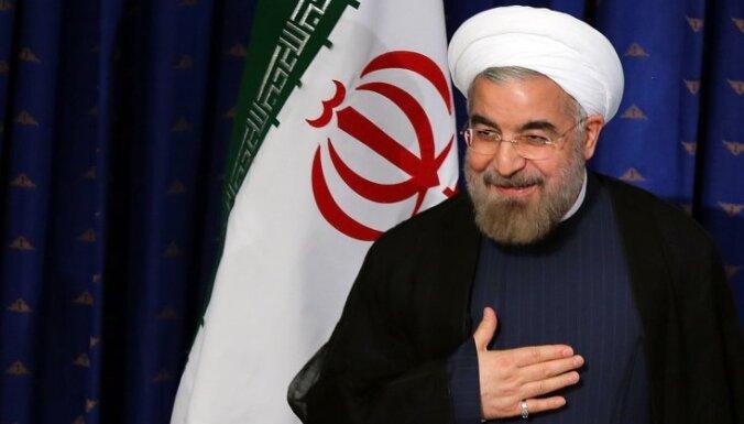Irānas jaunais prezidents gatavs nopietnām kodolsarunām