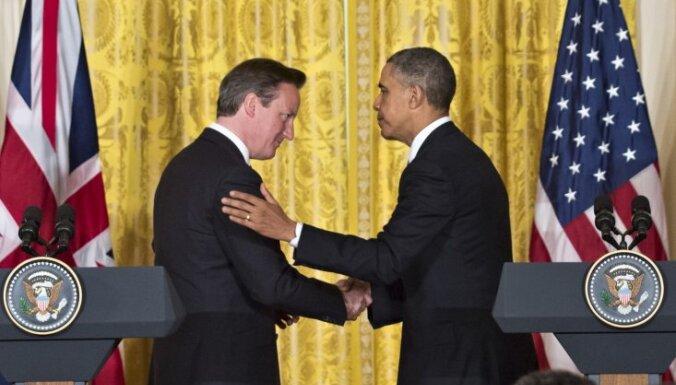 ASV un Lielbritānija vienojas pastiprināt spiedienu pret Sīrijas prezidentu