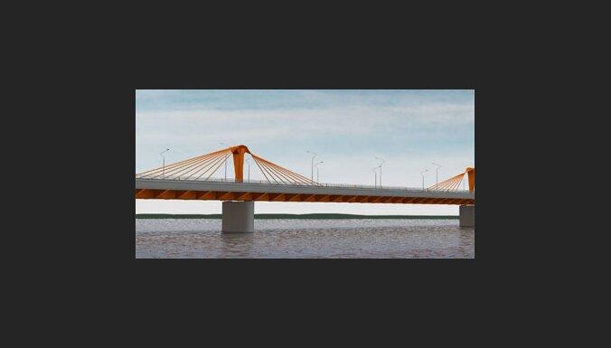 Valsts kontrole konstatējusi būtiskus pārkāpumus Dienvidu tilta būvniecības procesā
