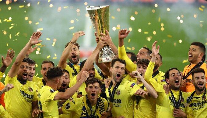 """""""Вильяреал"""" обыграл """"Манчестер Юнайтед"""" в финале Лиги Европы УЕФА"""