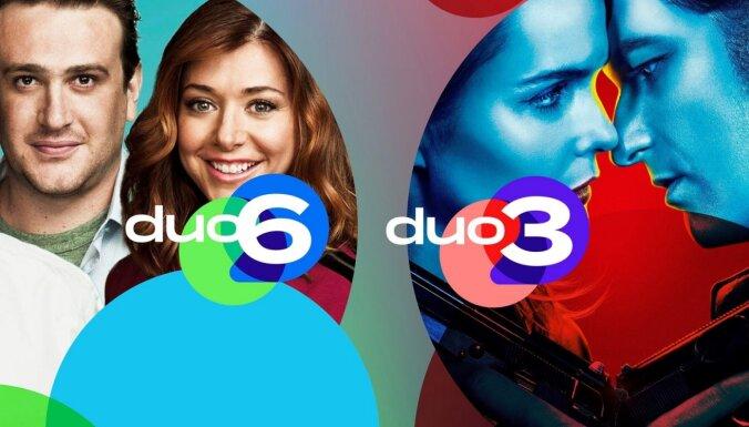 Jauni TV kanāli 'Duo 3' un 'Duo 6' ēterā jau no 1. aprīļa