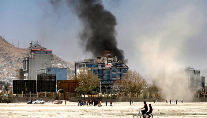 16 человек погибли при взрыве в дипломатическом квартале Кабула