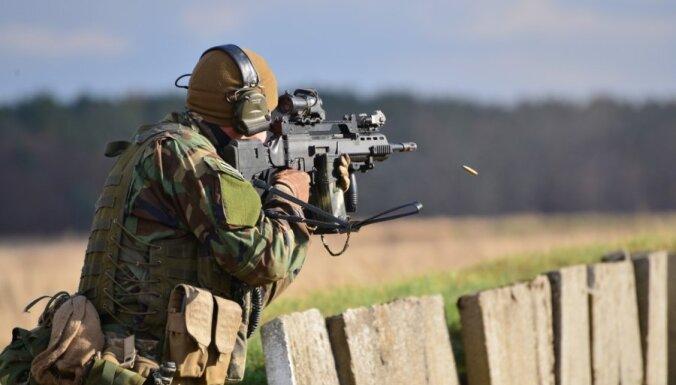 Латвия впервые проводит учения для солдат в отставке