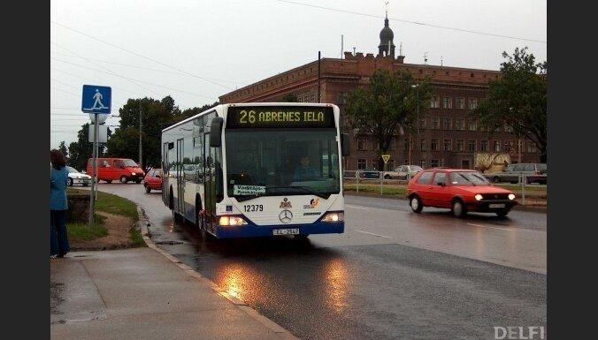 Rigas satiksme меняет расписание автобусов