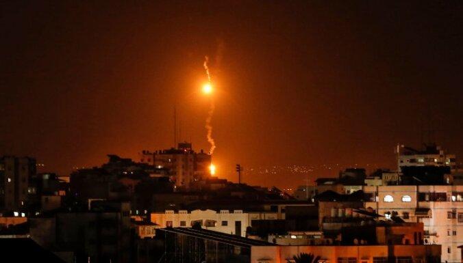 Израиль сообщил о перехвате десятков ракет из сектора Газа