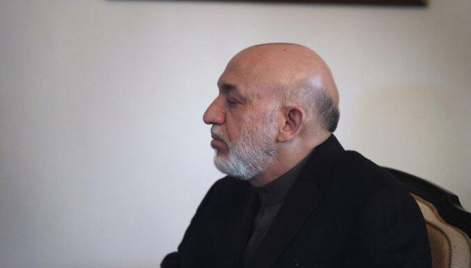 Лидер Афганистана призвал НАТО уйти в 2013 году
