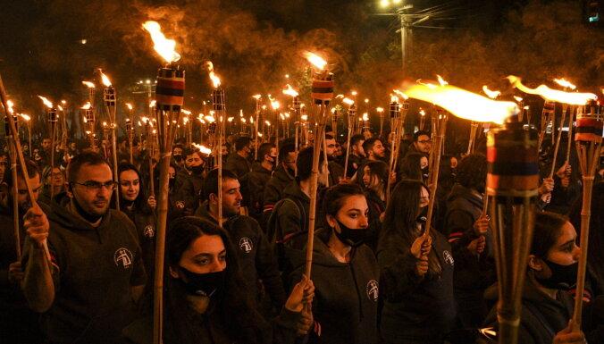 В Армении проходят акции в память о жертвах геноцида в Османской империи