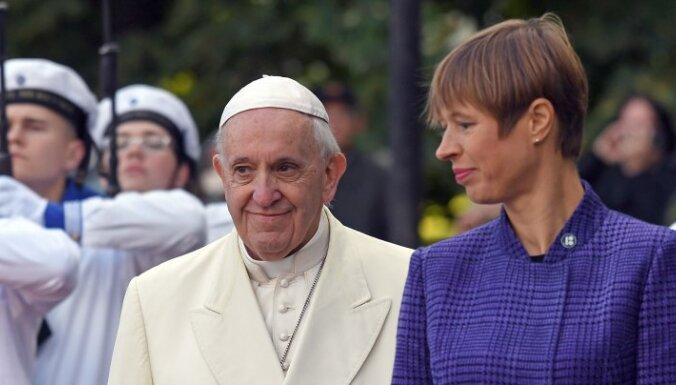 Кальюлайд поблагодарила Ватикан за непризнание оккупации Эстонии