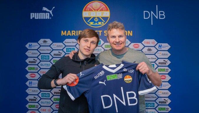 Jānis Ikaunieks karjeru turpinās Norvēģijā