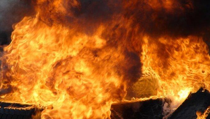 Ukrainas ebreju kopienas līdera auto eksplodējis spridzeklis