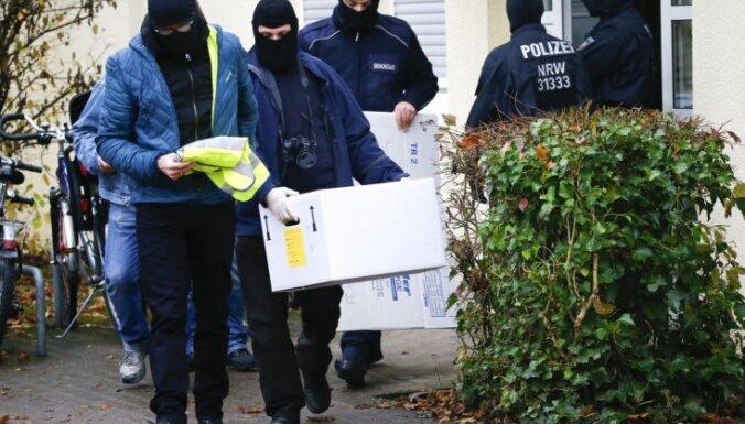 Vācijas policija veic plašus reidus pret 'Daesh' atbalstītājiem