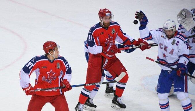 ЦСКА выбил СКА в полуфинале Кубка Гагарина, питерцы сложили полномочия чемпиона