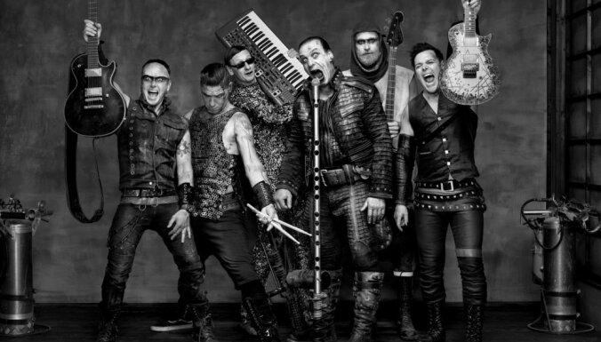 Ar ugunīgu šovu nākamvasar Lucavsalā uzstāsies 'Rammstein'