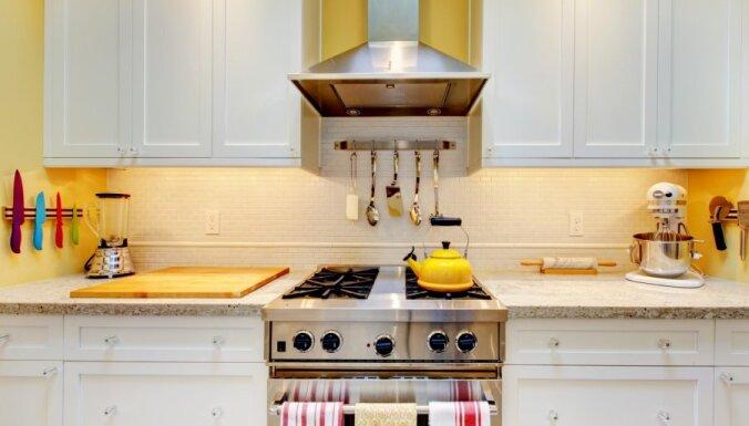 Virtuve ar rozīnīti: kā radīt retro noskaņu?