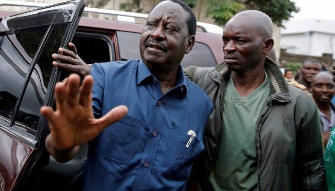 Kenijā oktobrī notiks atkārtotas prezidenta vēlēšanas