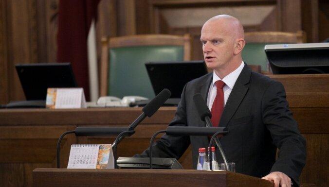 Берзиньш возвращается в Сейм на место депутата