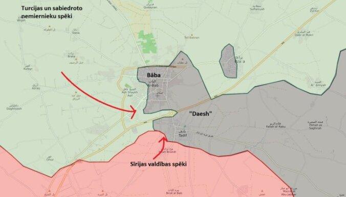 Sīrijas nemiernieku un turku spēki iegājuši Bābā