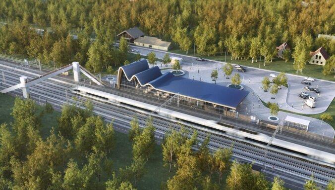 'Rail Baltica' Latvijas posmam līdz šim piesaistīti 377 miljoni eiro