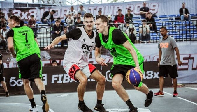 'Rīga Ghetto Basket' 3x3 basketbolisti iekļūst sezonas pirmspēdējā posma ceturtdaļfinālā