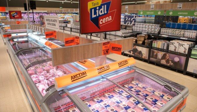 Unikālie 'Lidl' pārtikas produktu zīmoli