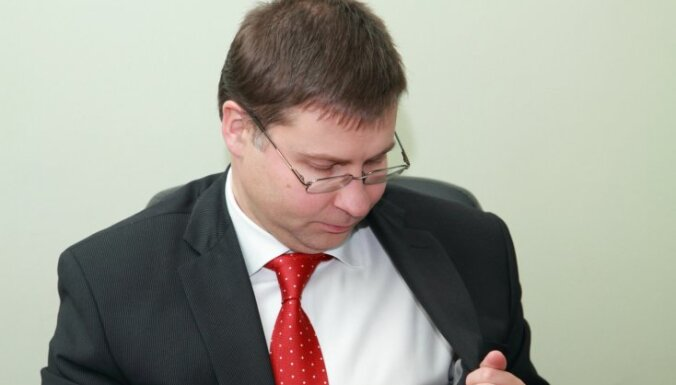 Домбровскис не боится смены власти в Литве