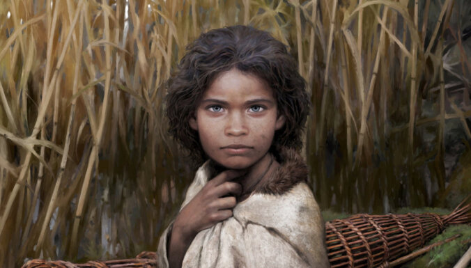 Ученые воссоздали облик девушки из каменного века по жвачке
