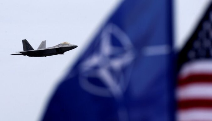 В воздушном пространстве Балтии начинаются учения НАТО и союзников Ramstein Alloy