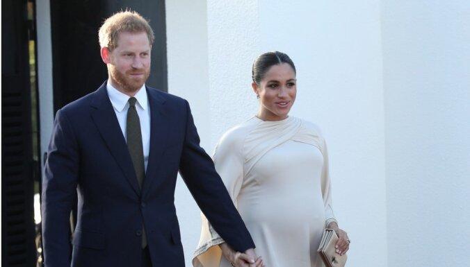 У герцогини Сассекской Меган и принца Гарри родился сын