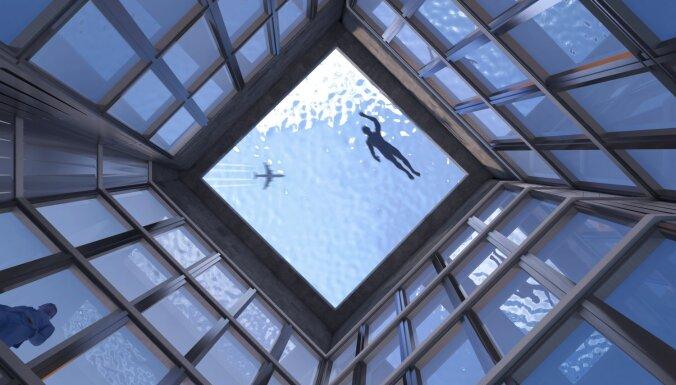 Londonā plāno izveidot pasaulē pirmo 360 grādu baseinu uz jumta