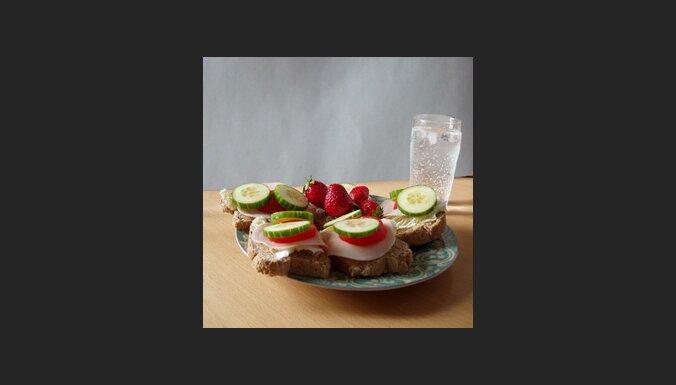 Diētisks ēdiens. Foto: Kenneth Klette