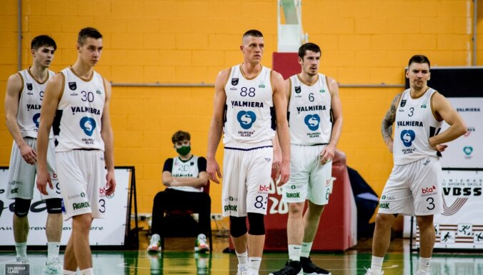 Valmieras basketbolisti pārtrauc triju zaudējumu sēriju pret BK 'Liepāja'