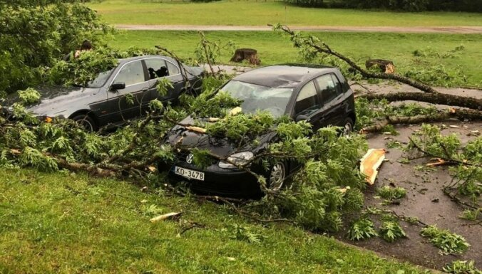 Pēc negaisa postījumiem BTA saņēmis atlīdzību pieteikumus vairāk nekā 50 000 eiro apmērā