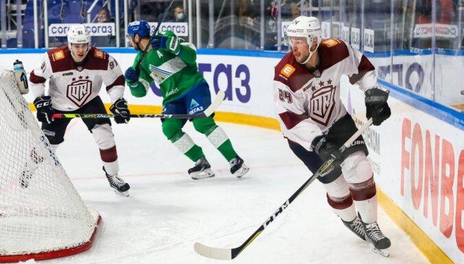 Rīgas 'Dinamo' sezonas pēdējo mājas spēļu sēriju sāk ar maču pret 'Salavat Julajev'