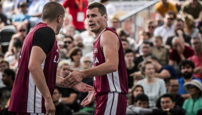Latvijas 3x3 basketbolisti sasniedz PK finālu; iegūst ceļazīmi uz OS kvalifikācijas turnīru