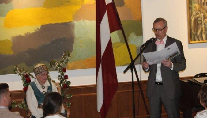 В возрасте 102 лет умерла знаменитая латвийская диссидентка Валентина Ласмане