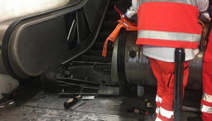Полиция Рима нашла виновных в обрушении эскалатора с болельщиками ЦСКА
