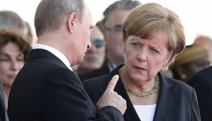 Меркель исключила восстановление России в G8