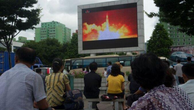 Ziemeļkorejas raķetes var sasniegt ASV lielās pilsētas, bažījas eksperti