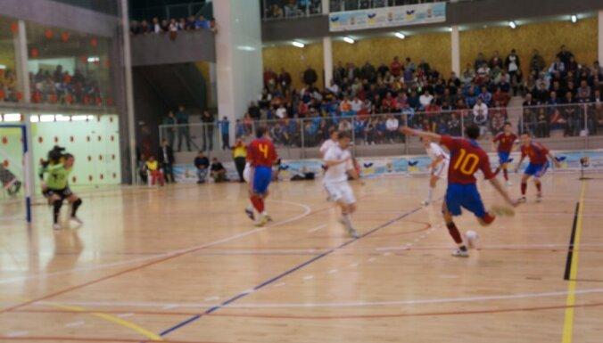 Сборная Латвии по футзалу — четвертая на турнире в Баку