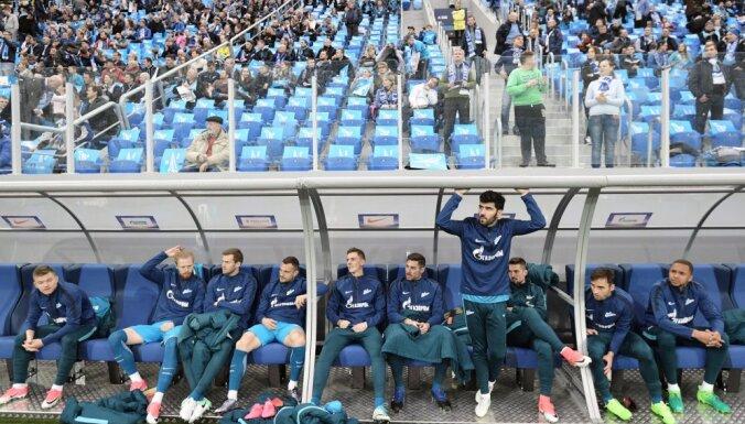 Zenit players stadion Krestovsky