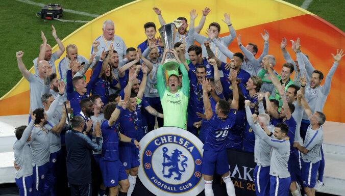 """""""Челси"""" разгромил """"Арсенал"""" в финале Лиги Европы УЕФА в Баку"""