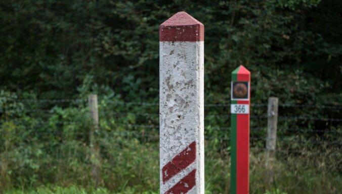 Piektdien novērsts 14 cilvēku mēģinājums nelikumīgi šķērsot Latvijas-Baltkrievijas robežu