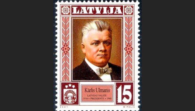 K.Ulmanim veltīta pastmarka