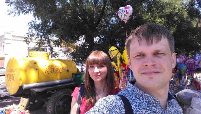 Neparasts medusmēneša stāsts: tūristi Odesā