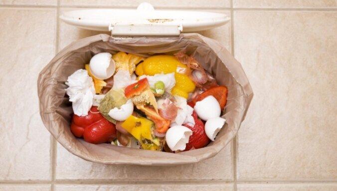 Pasaules Dabas fonds: pasaulē ik gadu atkritumos nonāk 1,3 miljardi tonnu pārtikas