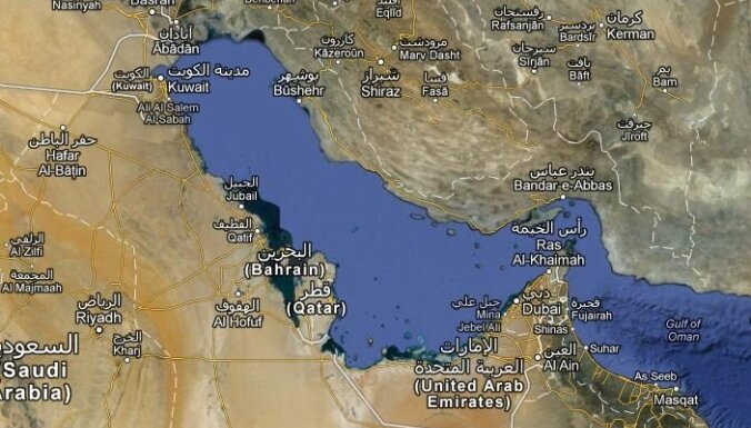 Pentagons: Irānas aizturētie jūrnieki varēs turpināt ceļu bez kavēšanās