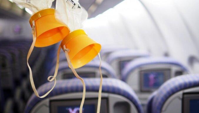 Эксперты подсчитали, насколько хватает кислородной маски в случае ЧП на борту самолета