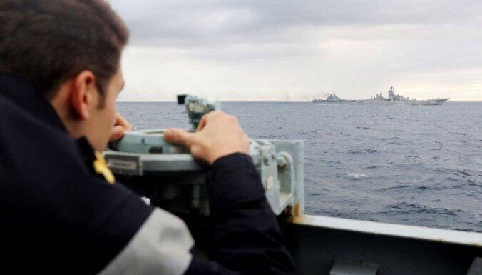 НВС: у границ Латвии замечены два российских военных корабля