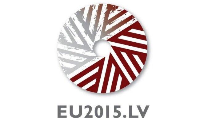 На логотипе председательства Латвии в ЕС будет жернов